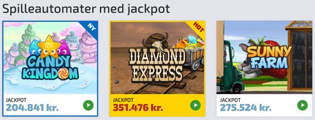 High limit slot jackpots